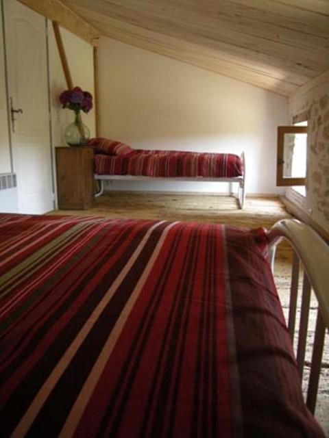 """chambre """"lits jumeaux"""" coquelicot"""