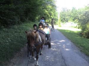 randonnées équestres