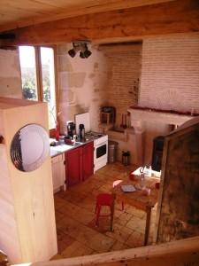 la cuisine vue d'en haut
